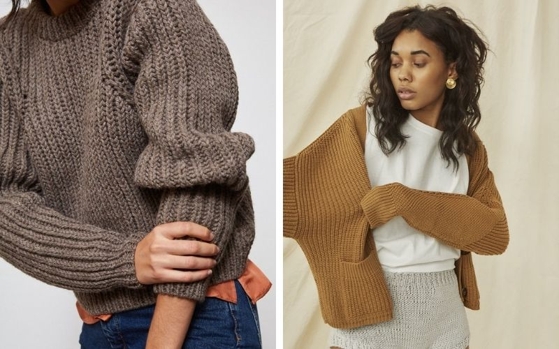 Ound knitwear and The Knotty Ones Preila cardigan