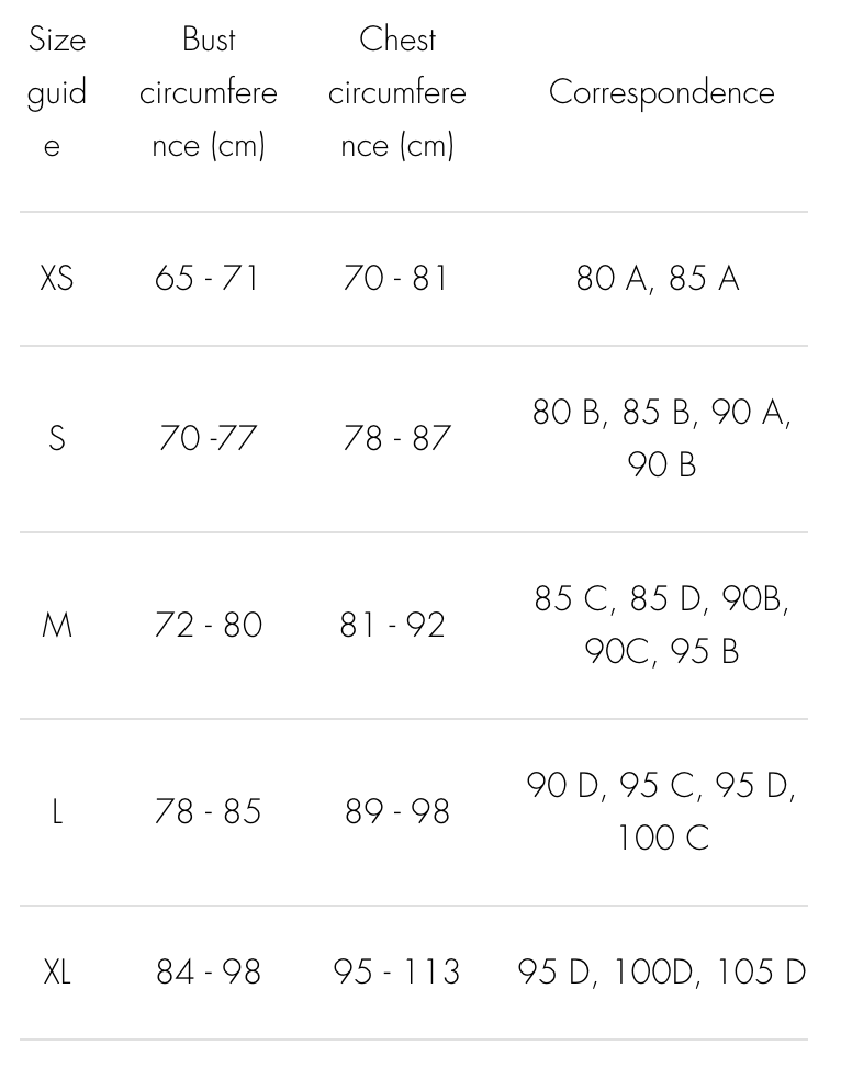 olly--bra-savannah-black--Size guide