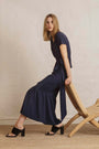 RESIDUS - SUSIE JERSEY SKIRT - EVENING BLUE, image no.3