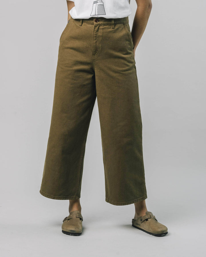 Brava Fabrics - Wide Leg Pants Toffee