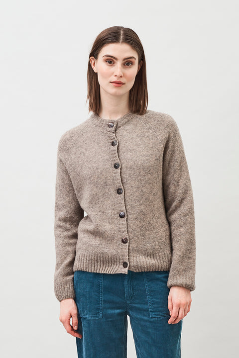 NALA - SOFT SILK CASHMERE WOOL CARDIGAN