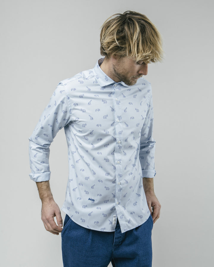 Brava Fabrics - From The Future To Savannah Printed Shirt