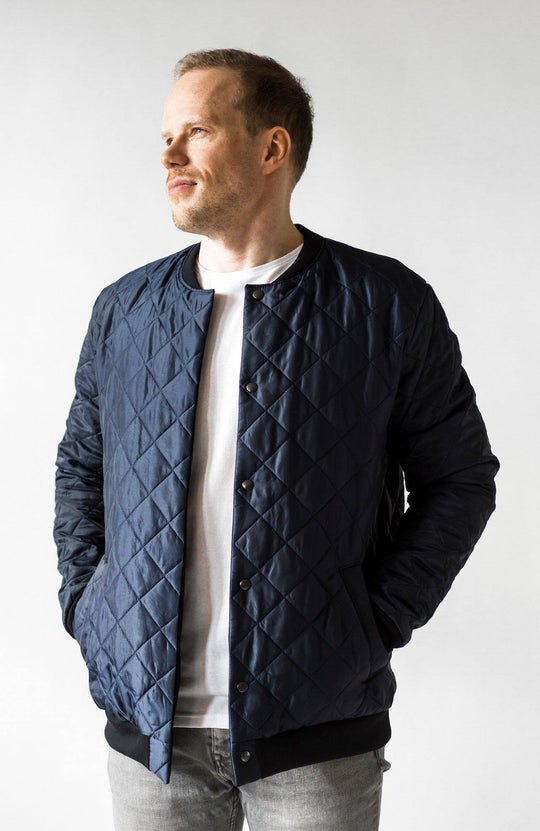 DFD Welcome To The Jungle Quilted Jacket
