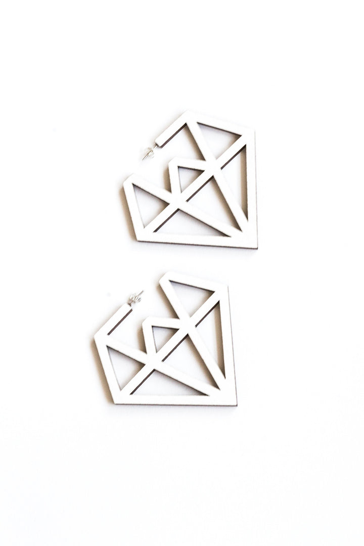- Doo Wop Earrings White