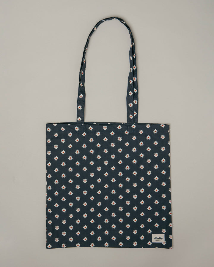 - Upcycled Totebag Woodstock Flowers