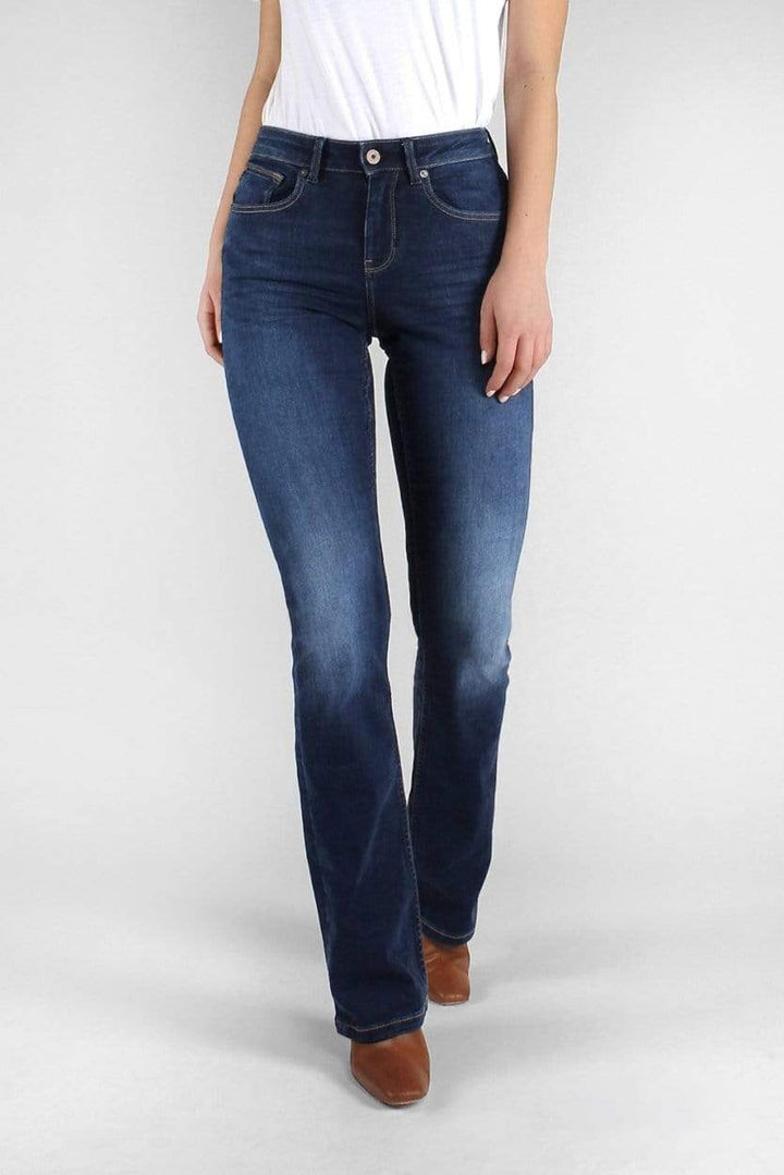 Kuyichi - Amy Bootcut Herbal Blue