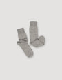 ARCHETYPE - Alpaca Boot Socks Grey, image no.3