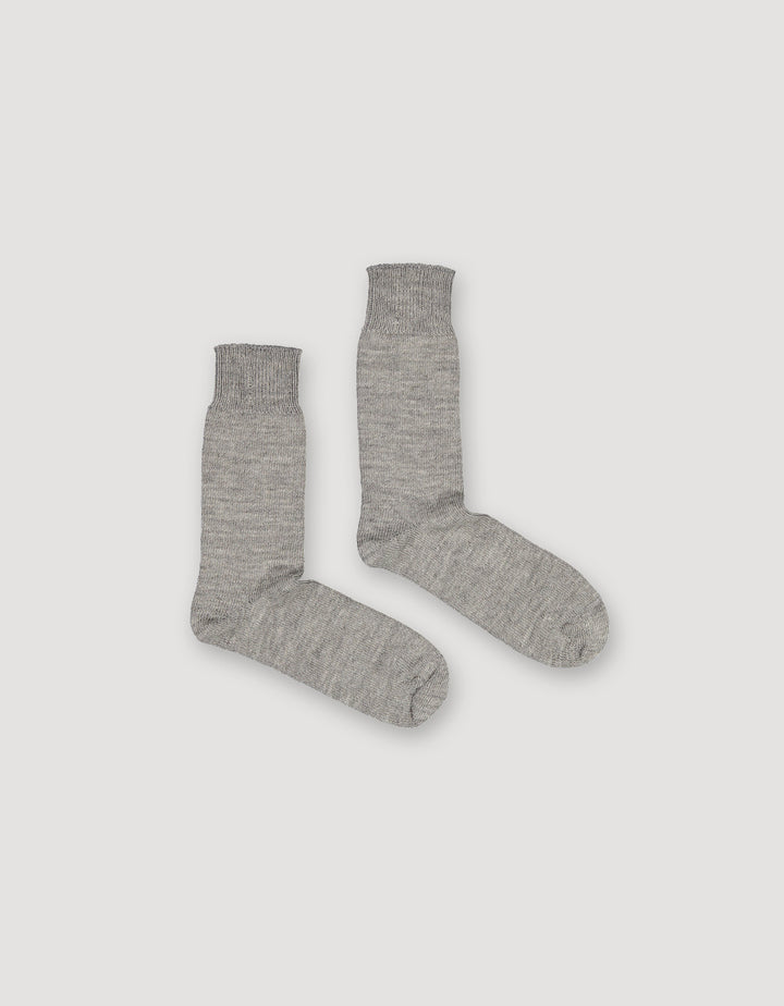 ARCHETYPE - Alpaca Boot Socks Grey