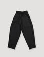 - Pleated Wool Trousers Black, image no.4