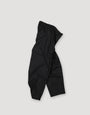 - Pleated Wool Trousers Black, image no.3
