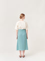 ARCHETYPE - Wrap Skirt Light Turquoise, image no.6
