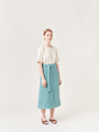 ARCHETYPE - Wrap Skirt Light Turquoise, image no.1