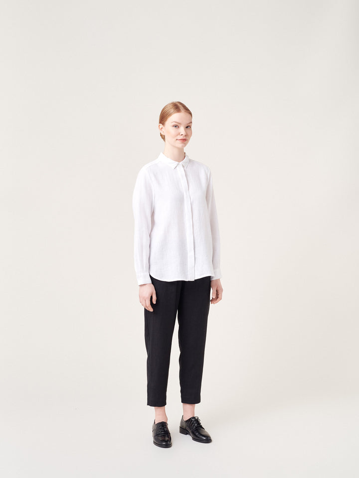 ARCHETYPE - Basic Shirt White