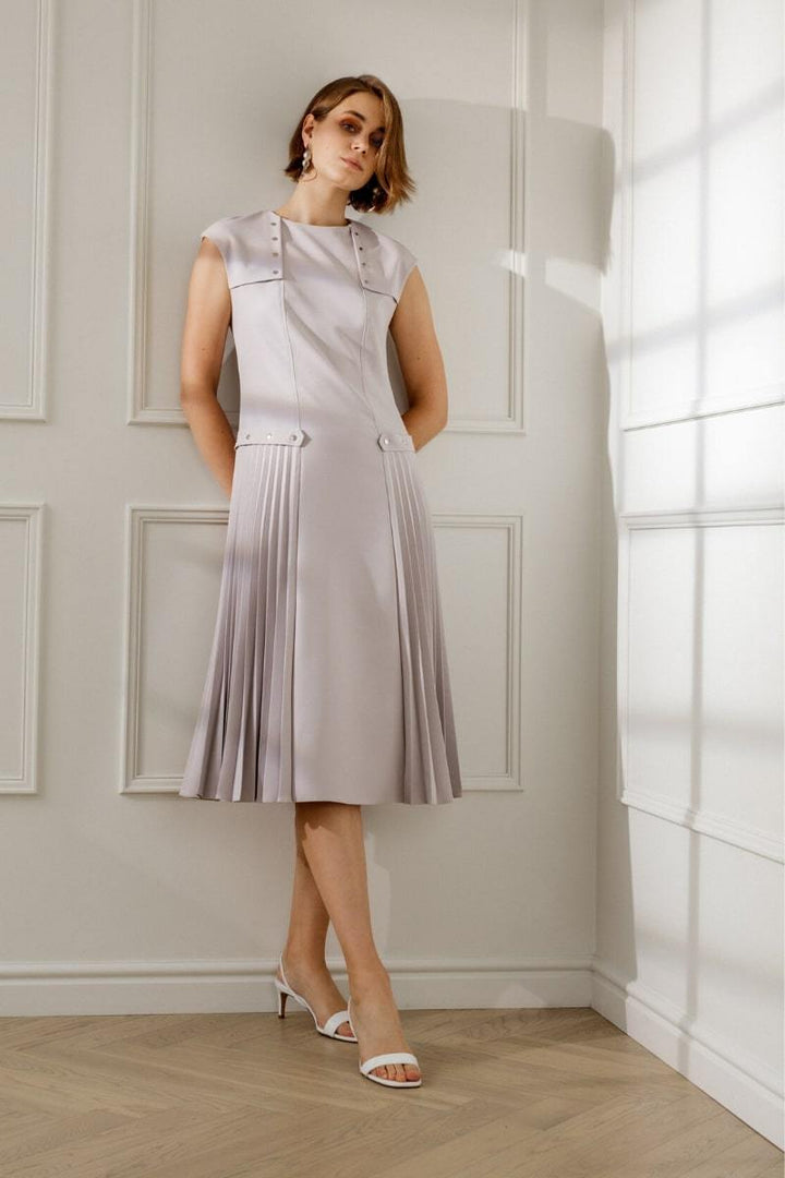 - BRIGID MIDI COCKTAIL DRESS