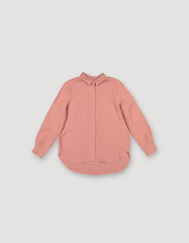 ARCHETYPE - Basic Shirt Burnt Salmon