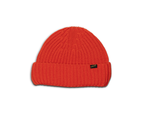 Bright Orange Atlantic Watch Cap / Beanie