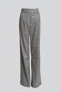 Carolina Machado - Rue Straight Leg Holographic Trousers, image no.3