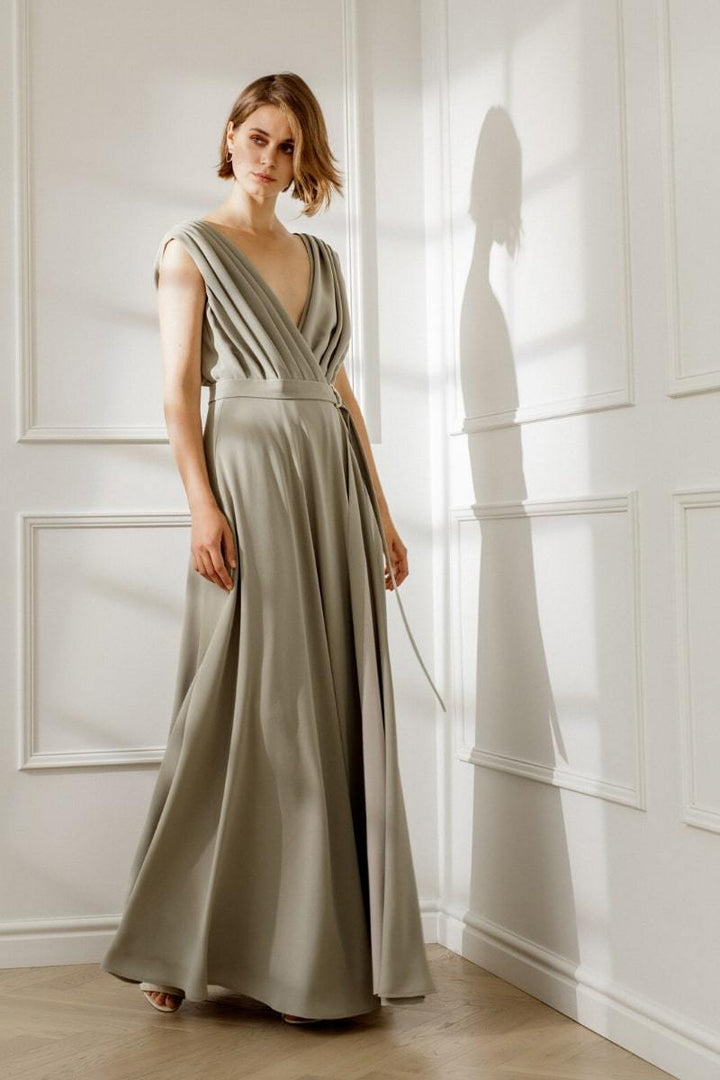 Diana Arno - CHLOE DRAPED MAXI DRESS