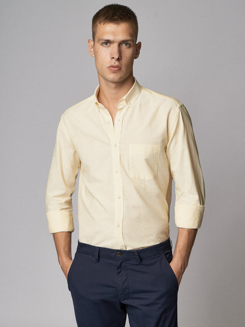 Casual Shirt Bernina Lemon