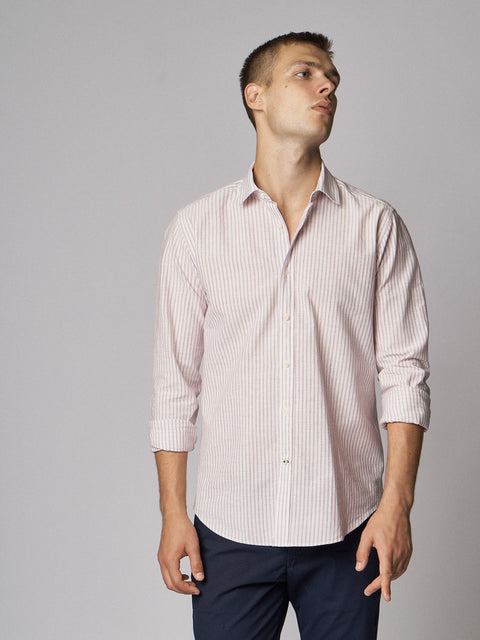 Casual Shirt Umbrail Bordeaux