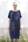 - Dress With An Asymmetric Band in Blue, image no.3