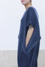 - Dress With An Asymmetric Band in Blue, image no.5
