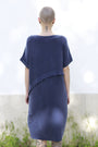 - Dress With An Asymmetric Band in Blue, image no.4