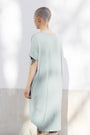 ABLESIA - Dress Oversized Midi in Green Watercolor, image no.4