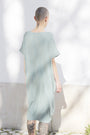ABLESIA - Dress Oversized Midi in Green Watercolor, image no.5