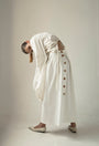 - WOODEN BUTTONS WHITE SKIRT, image no.6