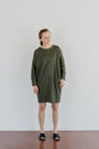 ABLESIA - DRESS MINIMAL IN GREEN, image no.2