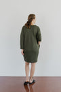 ABLESIA - DRESS MINIMAL IN GREEN, image no.3