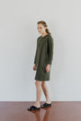 ABLESIA - DRESS MINIMAL IN GREEN, image no.4