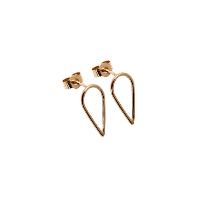 M of Copenhagen - FILIPPA ARROW 9ct Recycled Gold Earrings - NEW