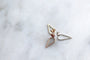 M of Copenhagen - FILIPPA ARROW 9ct Recycled Gold Earrings - NEW, image no.5