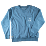 &SONS - Boxer No.4 Sweatshirt Smoky Blue, image no.2
