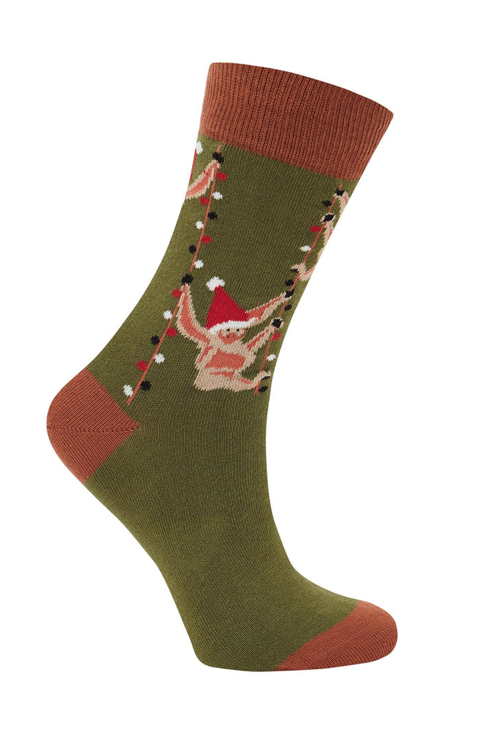 KOMODO - Sos Organic Cotton Socks Olive