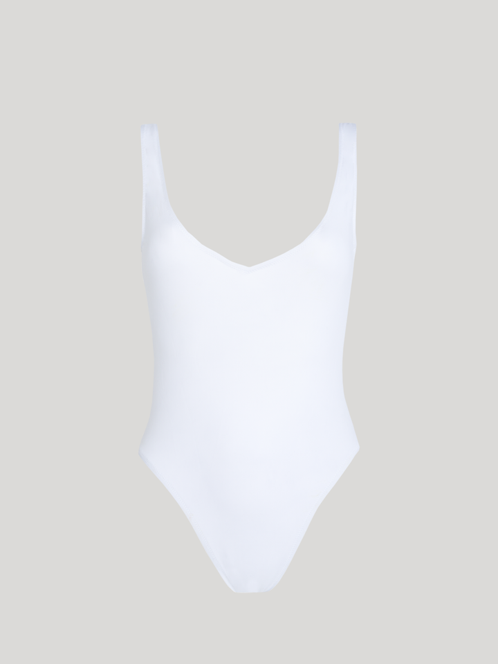 allSisters - Isometric Swimsuit White