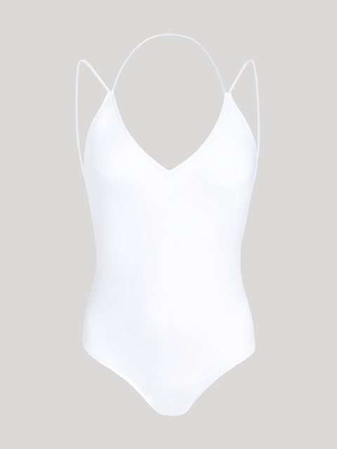 ISOSCELES SWIMSUIT WHITE