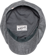 &SONS - Jackson Traditional Baker Boy Hat - Dove Grey, image no.3