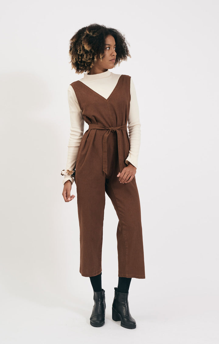 SHIO - JUMPSUIT - WALNUT
