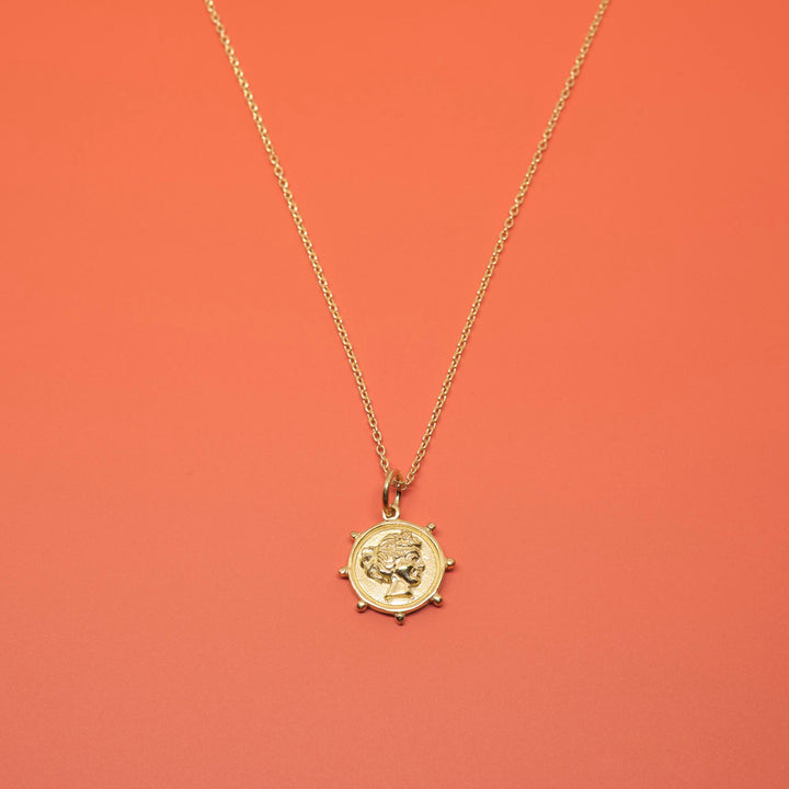 FEJN - coin necklace