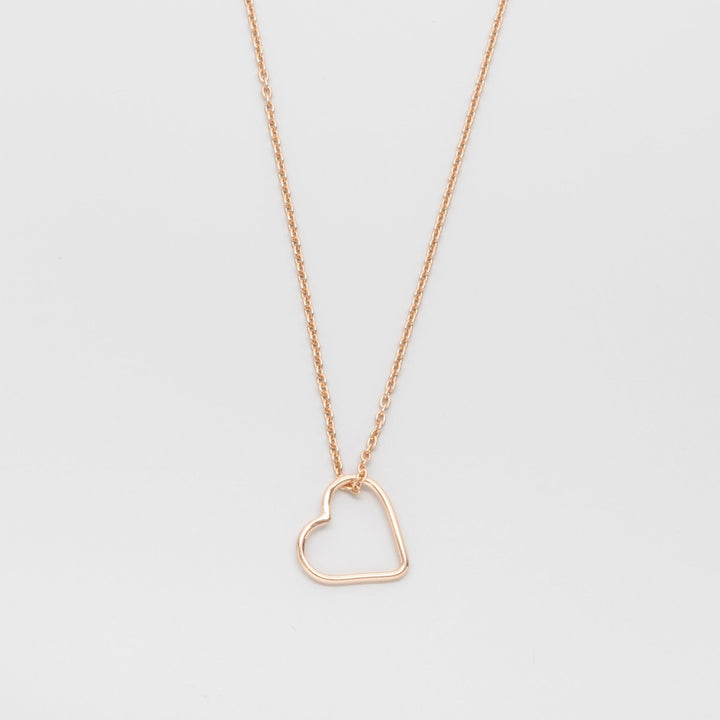 FEJN - heart necklace - M / L