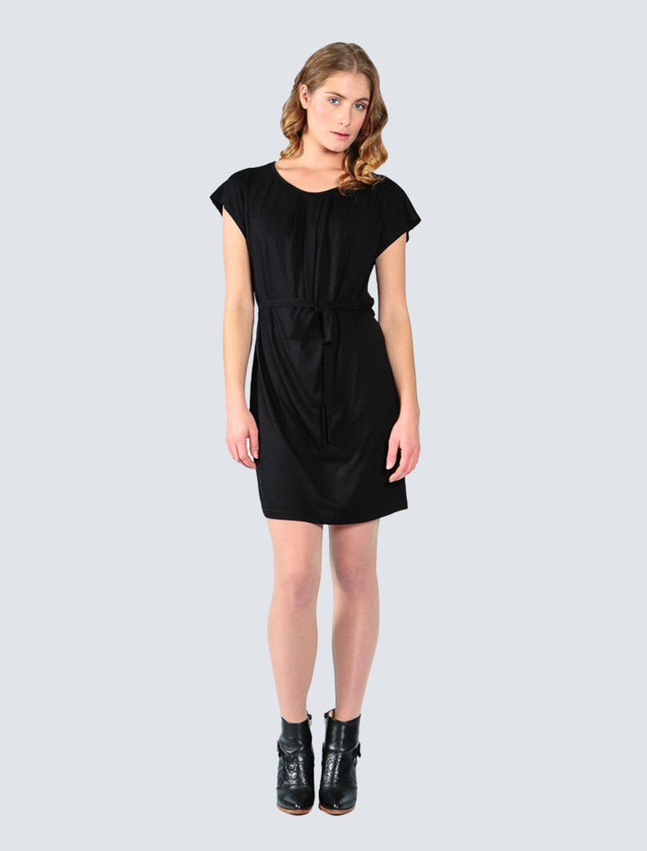 LILLE - Helvi Jersey Dress Black