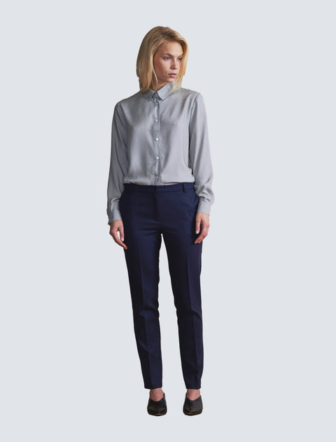 Salla Trousers Dark Blue