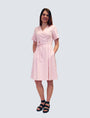 LILLE - Sofia Dress Pale Pink, image no.1
