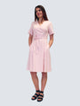 LILLE - Sofia Dress Pale Pink, image no.6