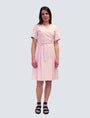 LILLE - Sofia Dress Pale Pink, image no.5