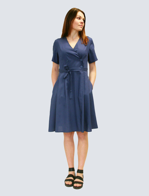 Sofia Dress Royal Blue