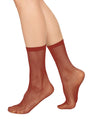 - Liv Net Socks Wine, image no.1